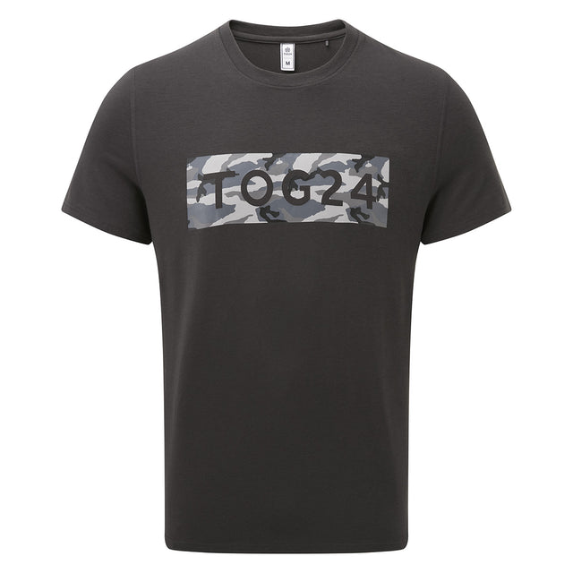 Towler Mens Performance Graphic T-Shirt - Charcoal image 1