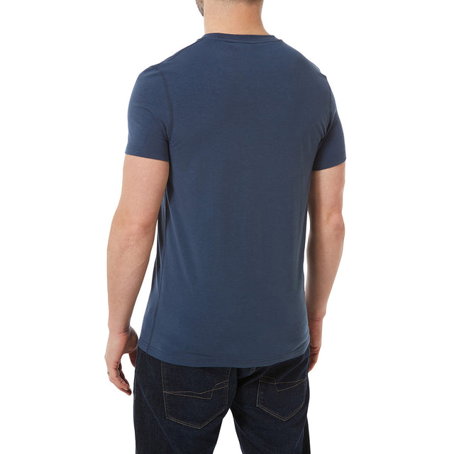 Towler Mens Performance Graphic T-Shirt - Denim image 3