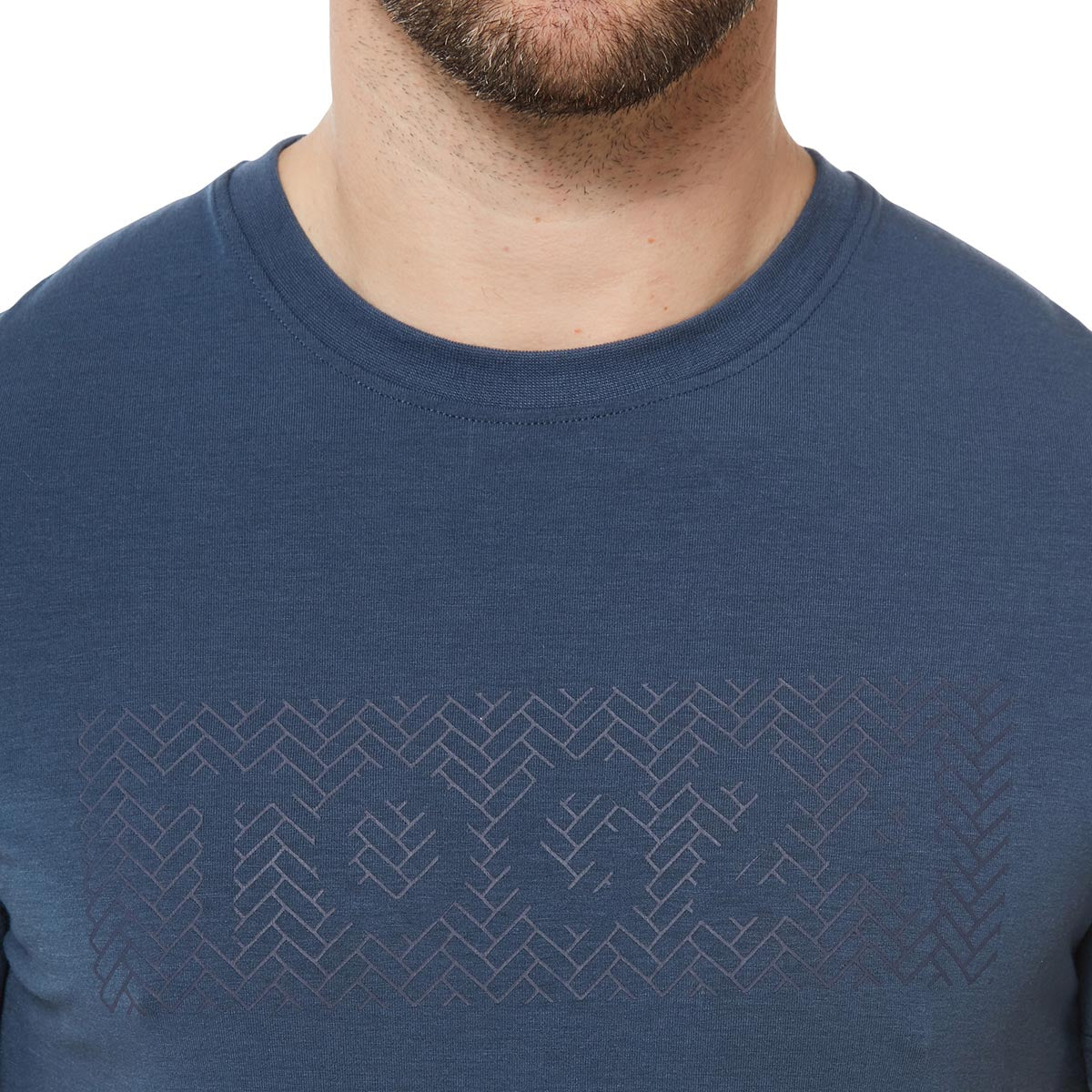 Towler Mens Performance Graphic T-Shirt - Denim image 4