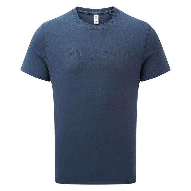 Towler Mens Performance Graphic T-Shirt - Denim image 1