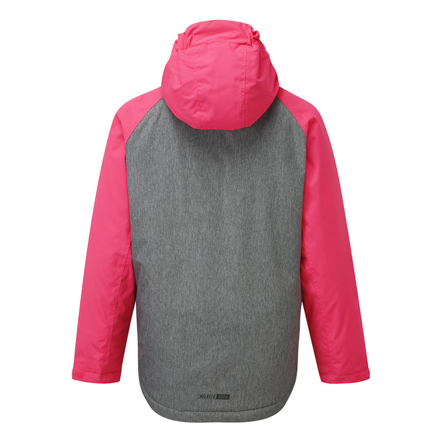 Trip Kids Milatex Jacket - Neon/Grey Marl image 2