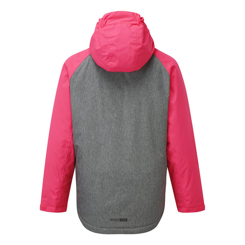Trip Kids Milatex Jacket - Neon/Grey Marl