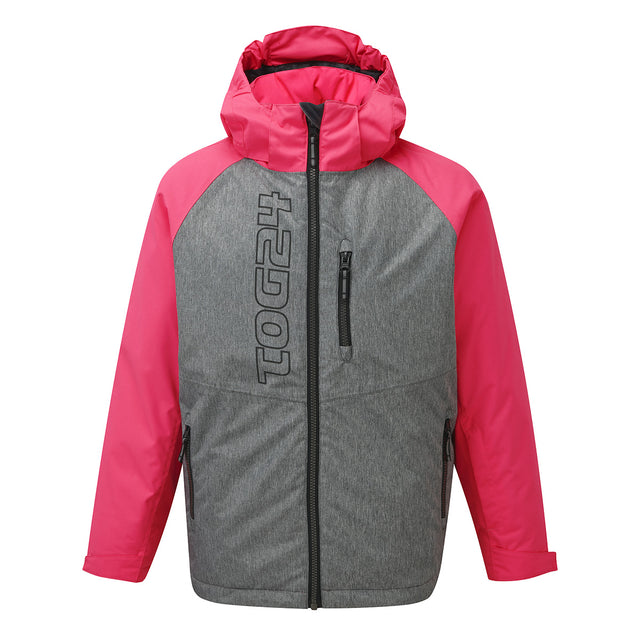 Trip Kids Milatex Jacket - Neon/Grey Marl image 1