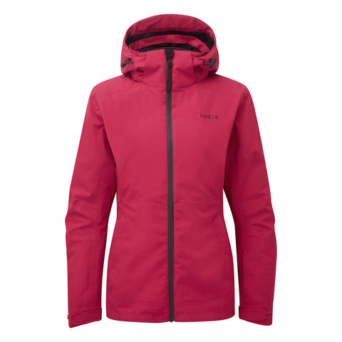 Twiss Womens Milatex 3-In-1 Jacket - Cerise