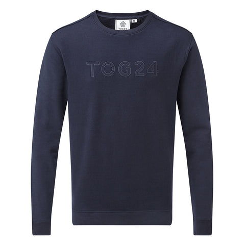 Ulley Mens Graphic Sweatshirt - Navy
