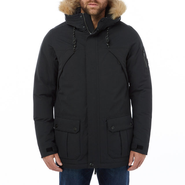 Ultimate Mens Milatex/Down Jacket - Black image 2