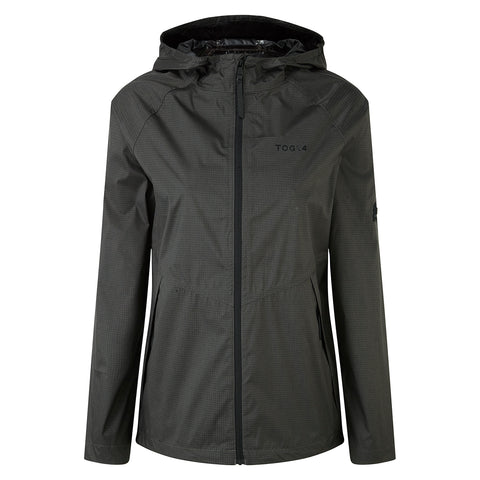 Vettel Womens Performance Waterproof Jacket - Charcoal