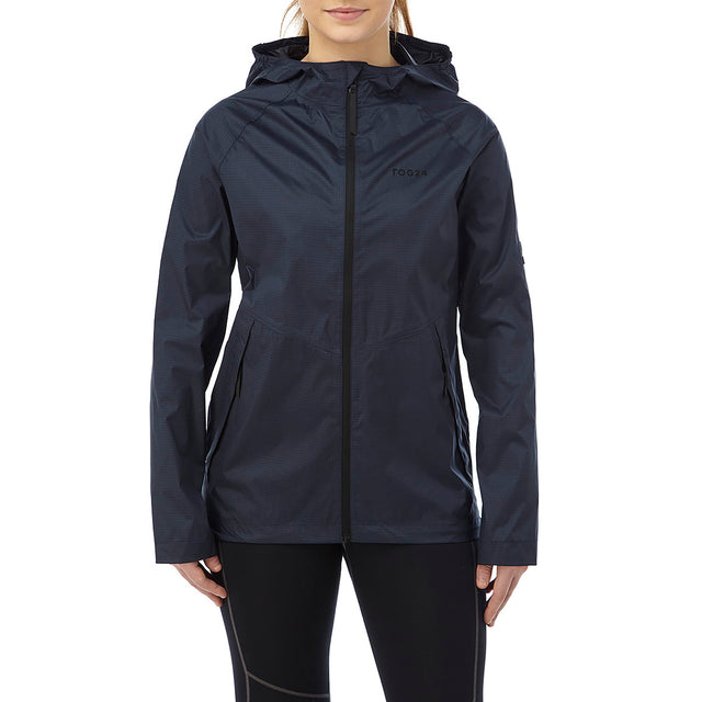 Vettel Womens Performance Waterproof Jacket - Navy image 2