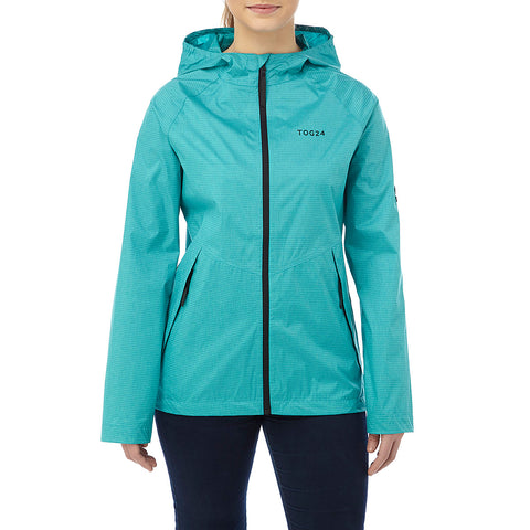 Vettel Womens Performance Waterproof Jacket - Turquoise