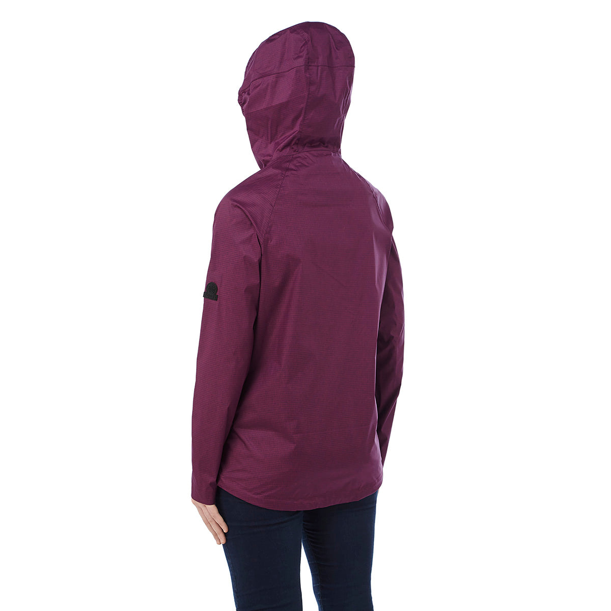 Vettel Womens Performance Waterproof Jacket - Dark Purple image 4