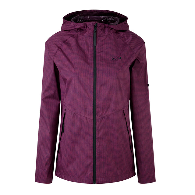 Vettel Womens Performance Waterproof Jacket - Dark Purple image 1