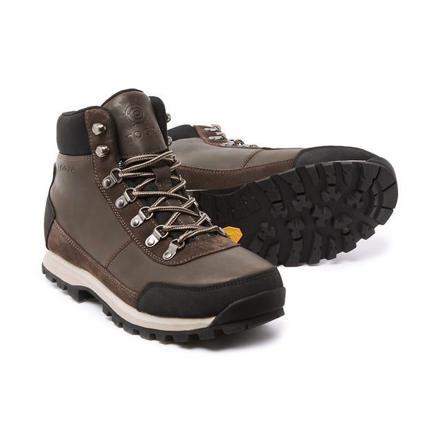 Whernside Mens Vibram Waterproof Boots - Chocolate Taupe image 1