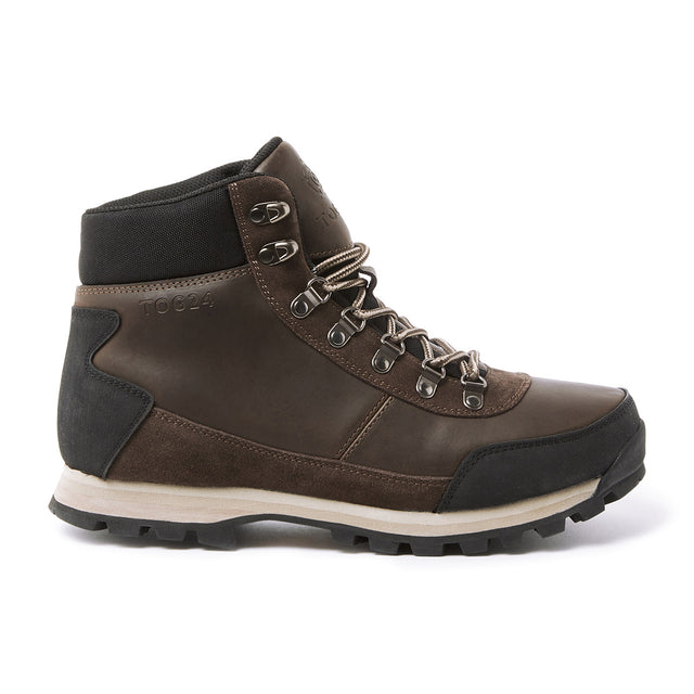 Whernside Mens Vibram Waterproof Boots - Chocolate Taupe image 2
