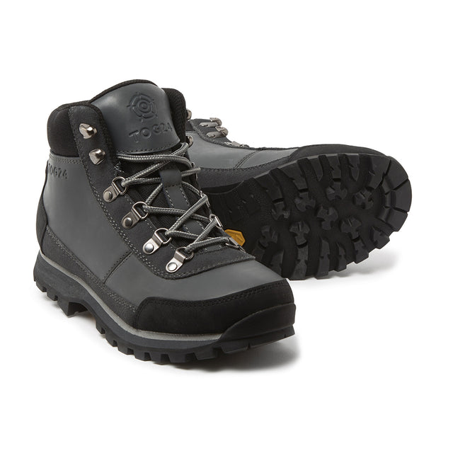 Whernside Unisex Vibram Waterproof Boots - Charcoal/Light Grey image 2
