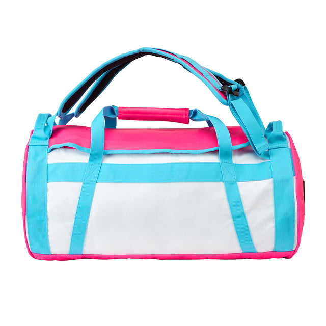Stow 30L Packaway Duffle - White/Sky/Neon image 3