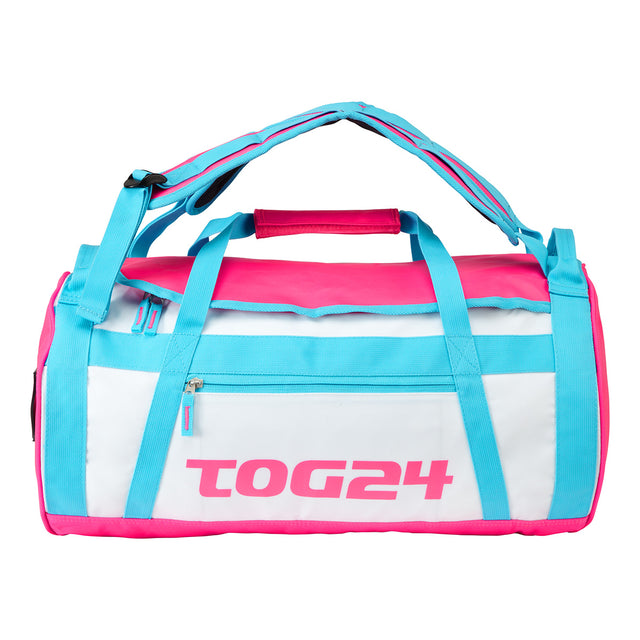 Stow 30L Packaway Duffle - White/Sky/Neon image 1