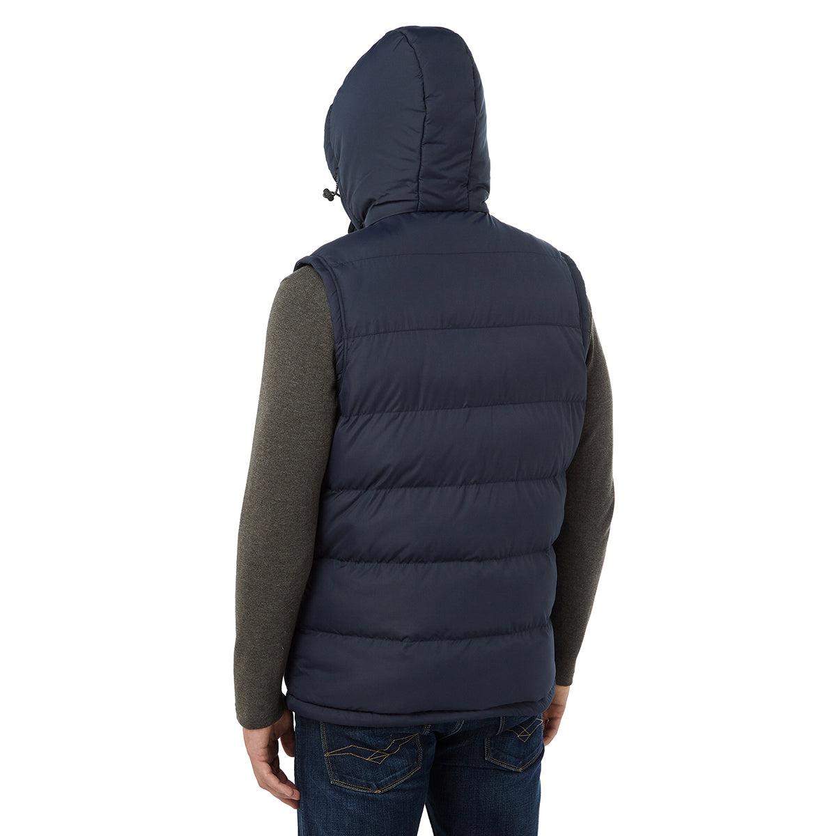 Worth Mens TCZ Thermal Gilet - Navy image 4