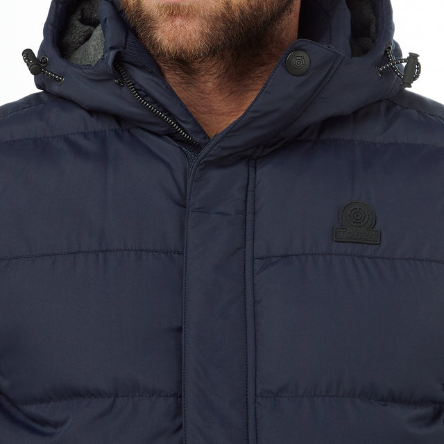 Worth Mens TCZ Thermal Gilet - Navy image 5