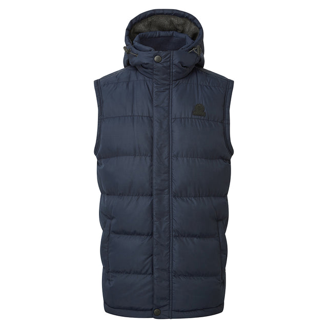 Worth Mens TCZ Thermal Gilet - Navy image 1