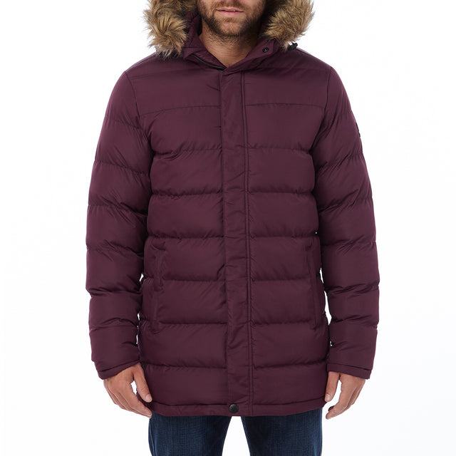 Worth Mens TCZ Thermal Jacket - Deep Port image 2