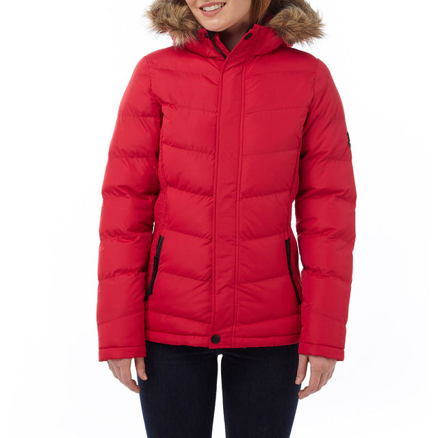 York Womens TCZ Thermal Jacket - Rouge Red image 2