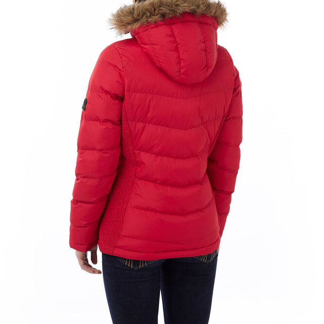 York Womens TCZ Thermal Jacket - Rouge Red image 3