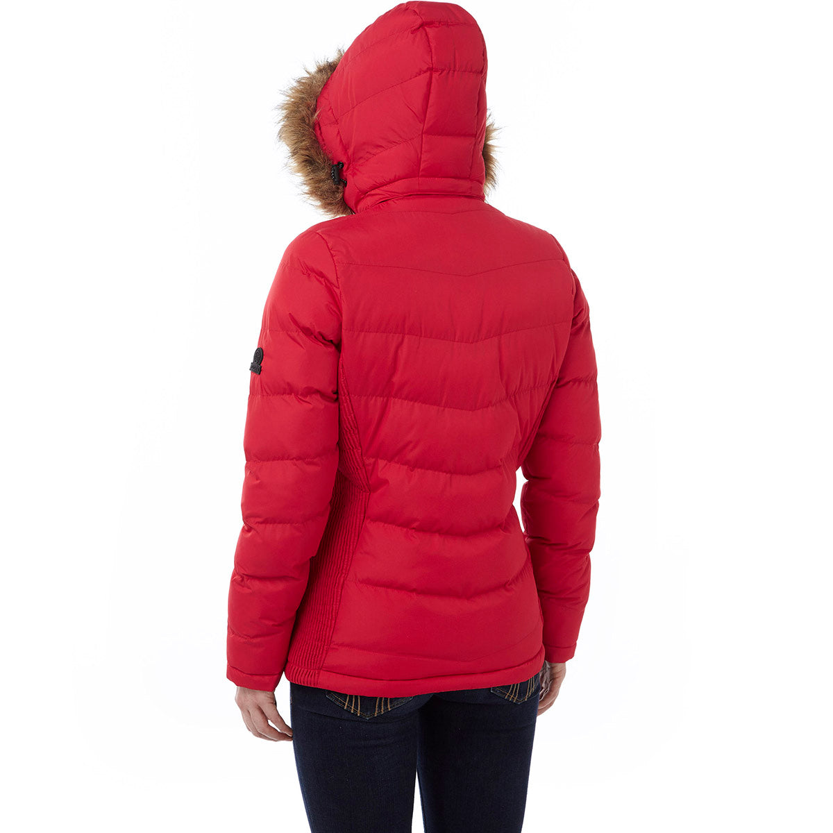York Womens TCZ Thermal Jacket - Rouge Red image 4