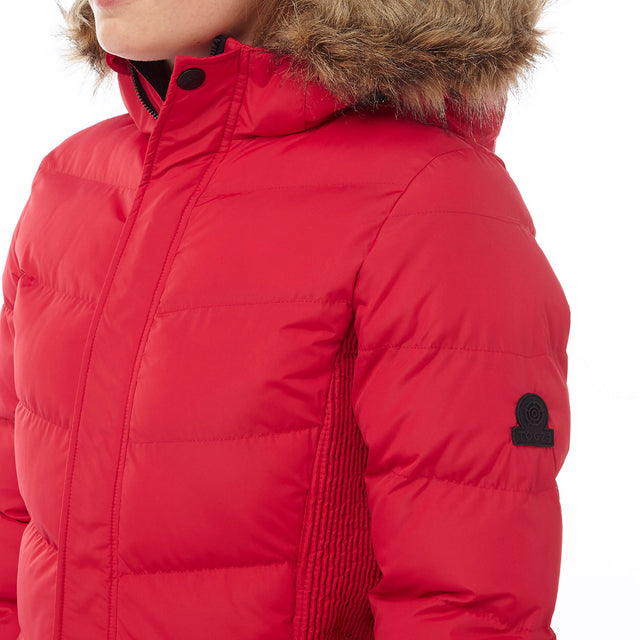 York Womens TCZ Thermal Jacket - Rouge Red image 5
