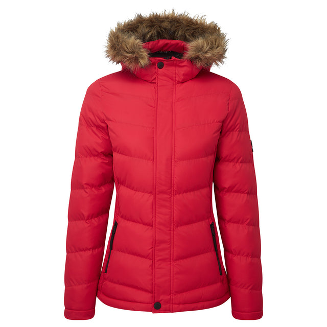 York Womens TCZ Thermal Jacket - Rouge Red image 1
