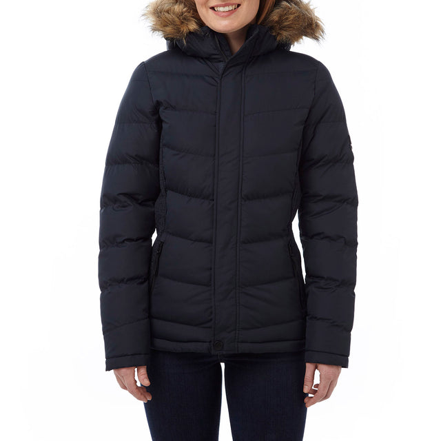 York Womens TCZ Thermal Jacket - Navy image 2
