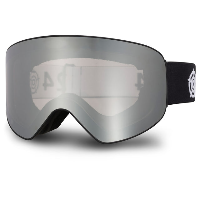 Zurs Photochromic Cat 2/3 Lens Goggles - Matt Black/Silver