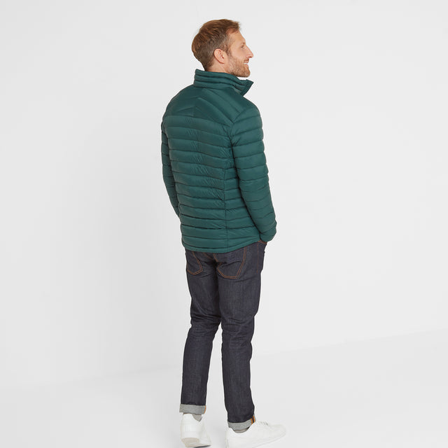 Base Mens Funnel Down Jacket - Forest image 3