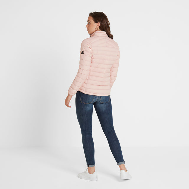 Base Womens Funnel Down Jacket - Rose Pink image 3