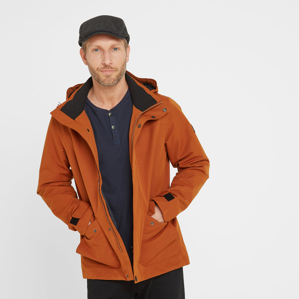 Beamsley Mens Waterproof Jacket - Amber image 4