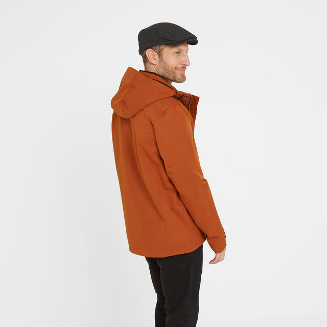 Beamsley Mens Waterproof Jacket - Amber image 2