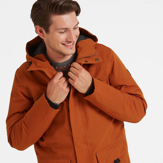 Dight Mens Waterproof Parka - Amber image 2