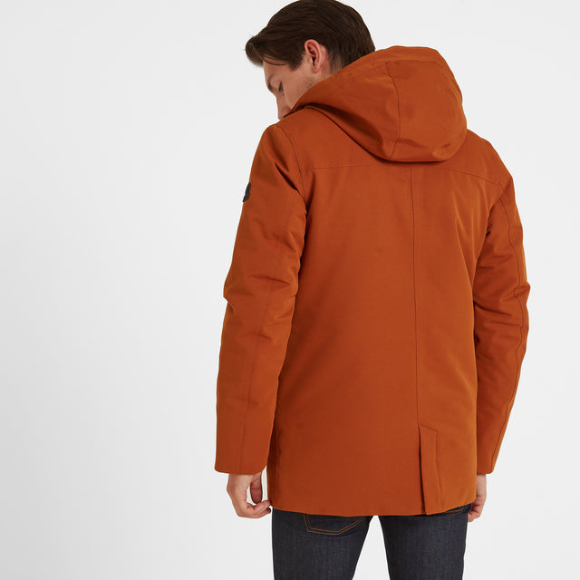 Dight Mens Waterproof Parka - Amber image 3
