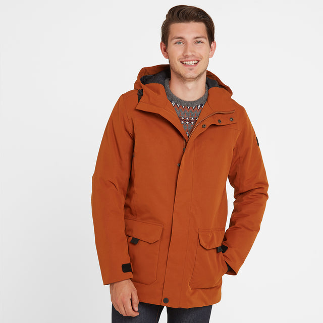 Dight Mens Waterproof Parka - Amber image 1