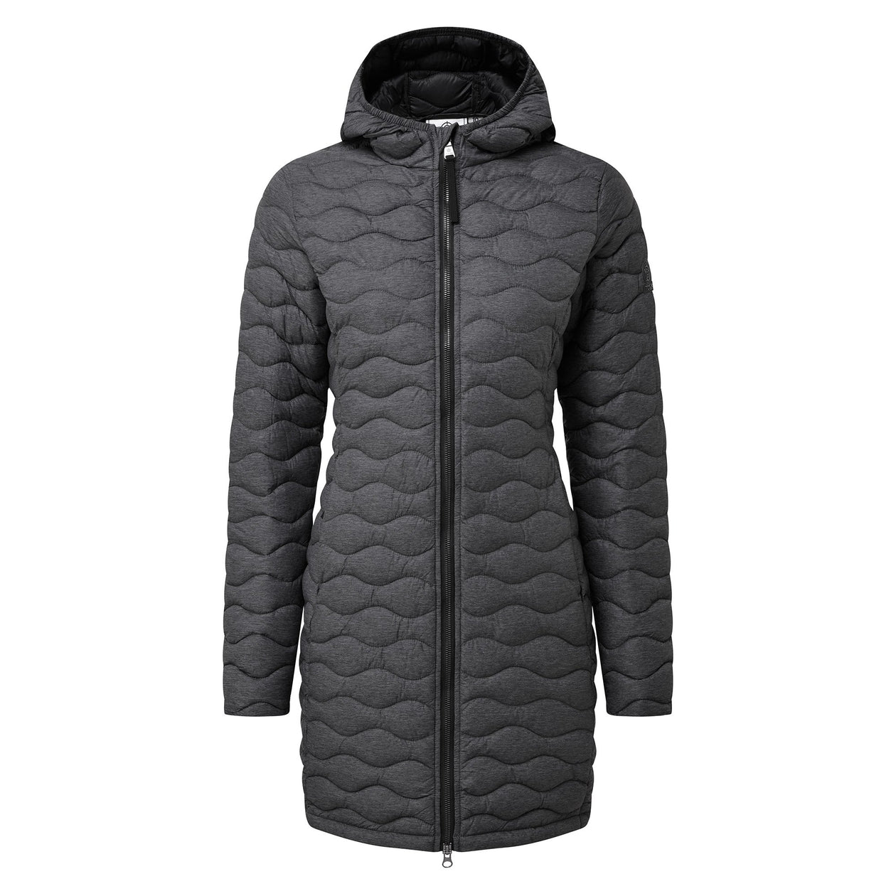 Eastby Womens Thermal Jacket - Grey Marl image 8