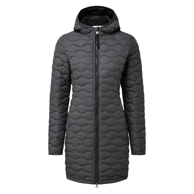 Eastby Womens Thermal Jacket - Grey Marl image 5
