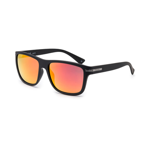 Flixton Sunglasses - Black/Red