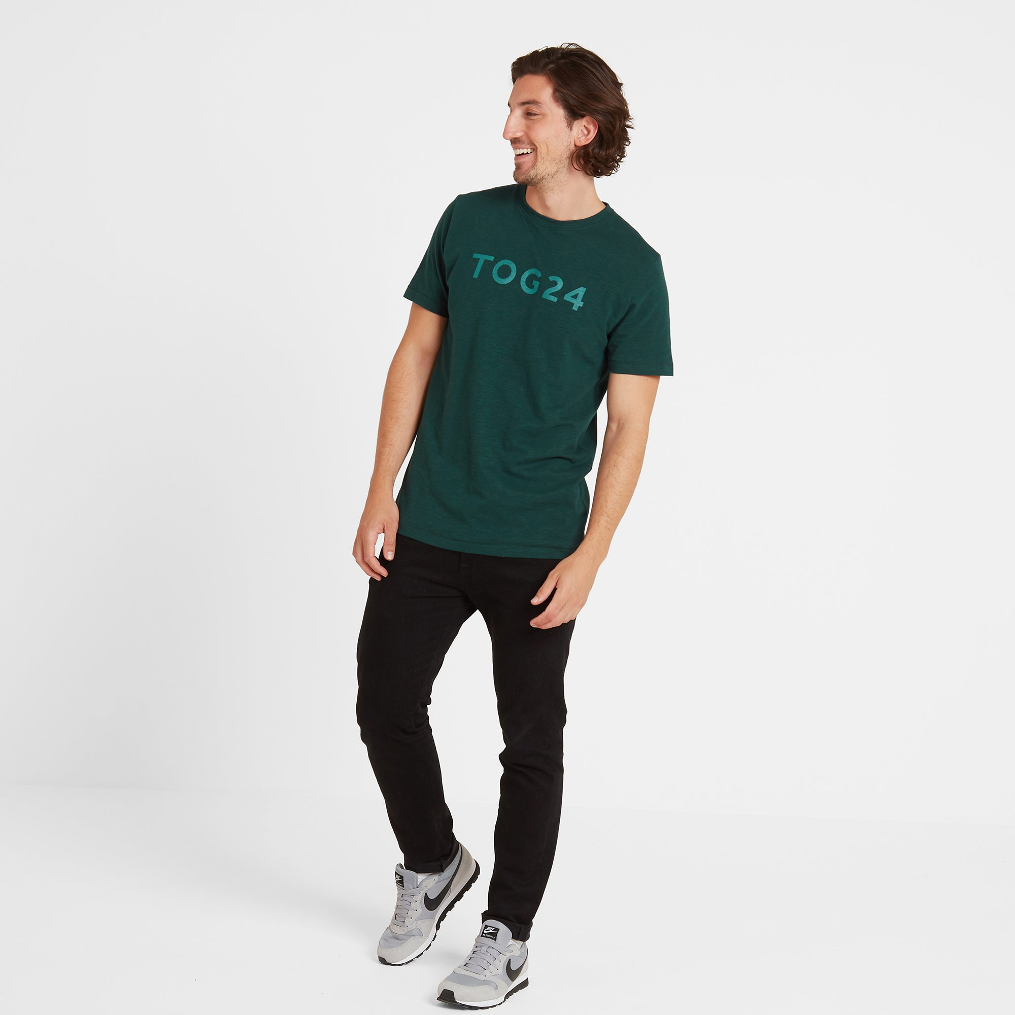 Hirst Mens T-Shirt - Forest Green