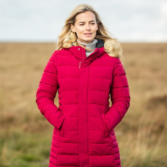 Helwith Womens Insulated Jacket - Rouge Red image 5