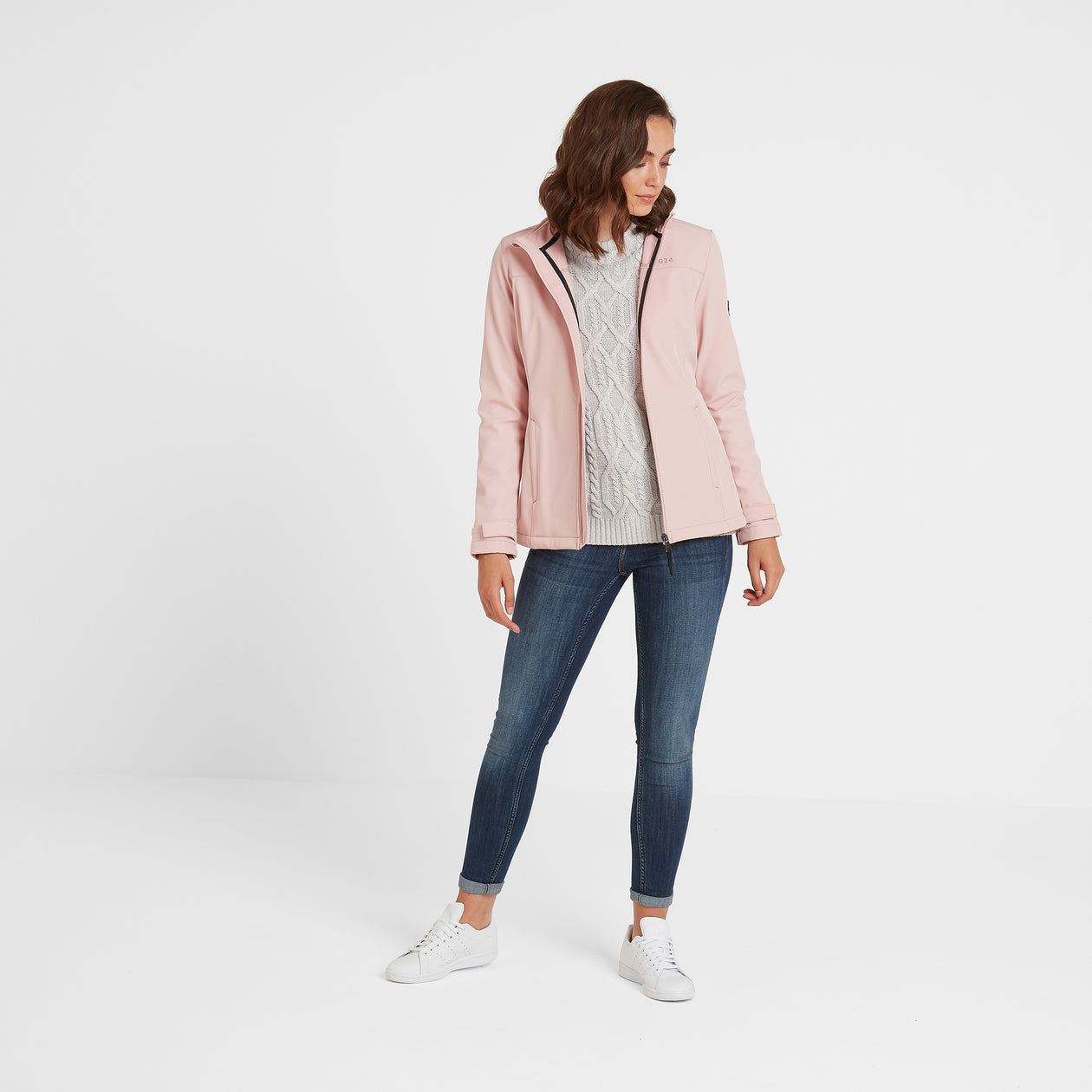 Keld Womens Softshell Jacket - Rose Pink image 4