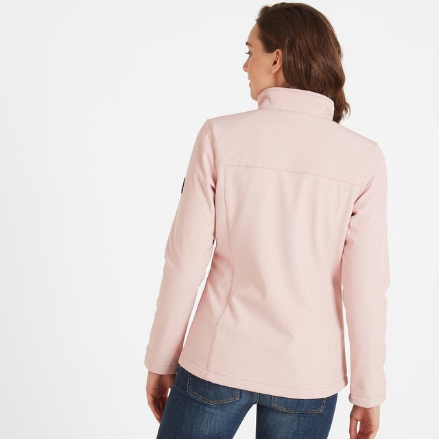 Keld Womens Softshell Jacket - Rose Pink image 2