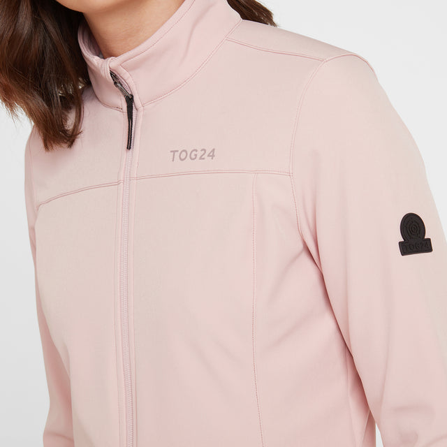Keld Womens Softshell Jacket - Rose Pink image 3