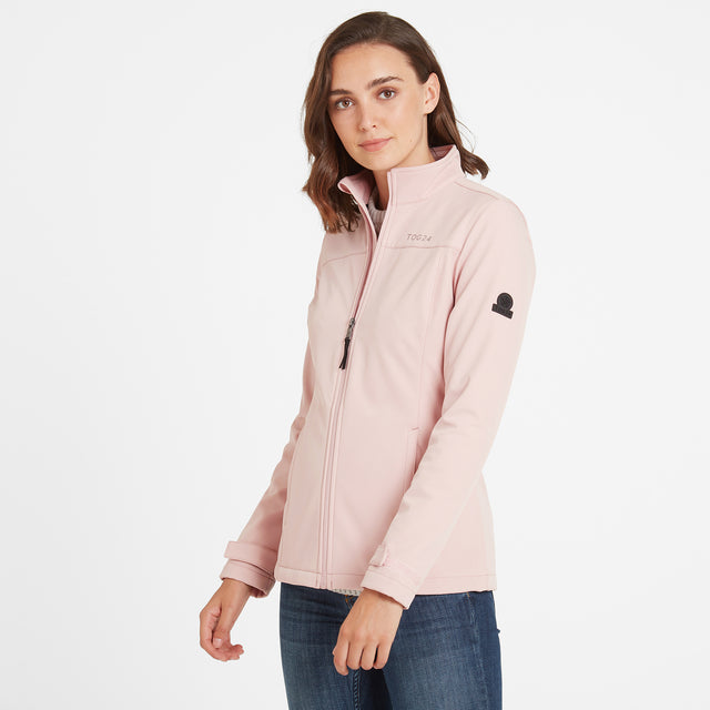 Keld Womens Softshell Jacket - Rose Pink image 1