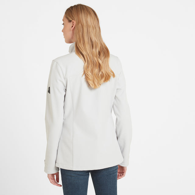 Keld Womens Softshell Jacket - Ice Grey image 2