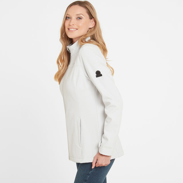 Keld Womens Softshell Jacket - Ice Grey image 1