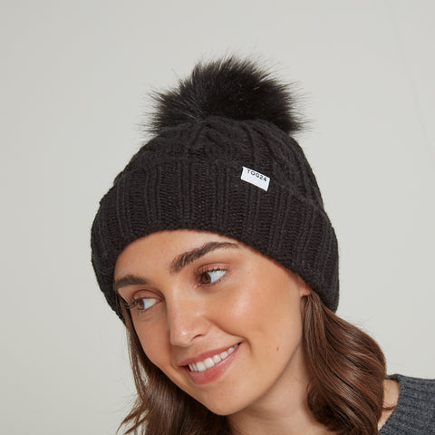Leedon Knit Hat - Black